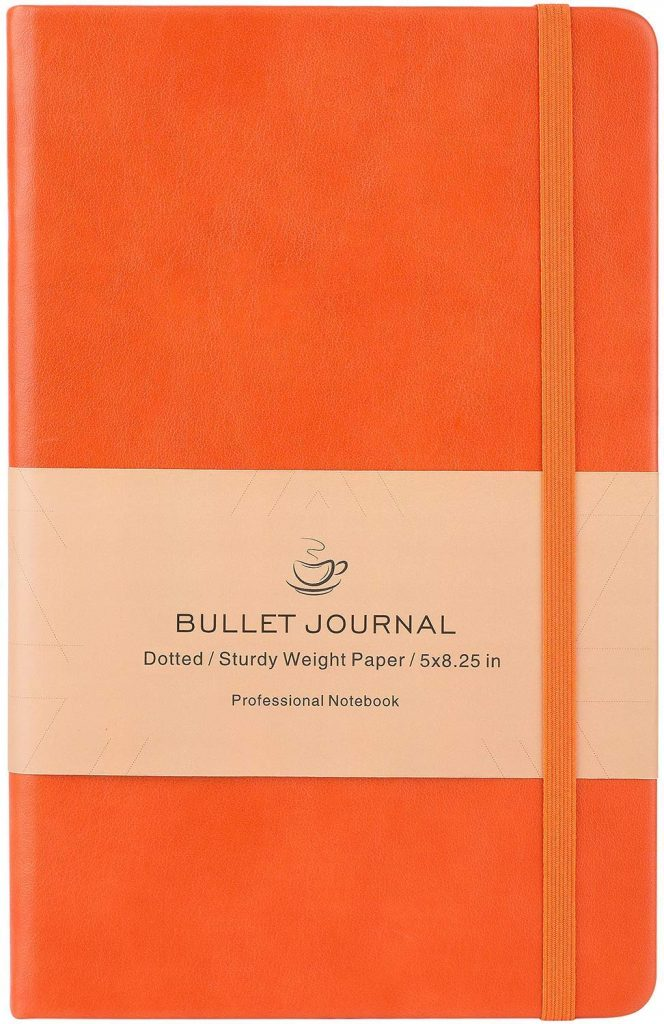 Bullet Journal Orange
