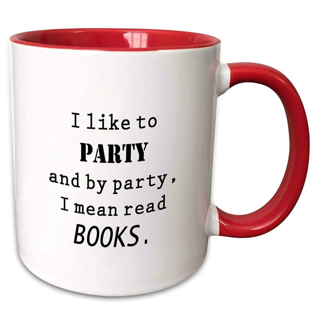 Coffee Mug for Book Readers