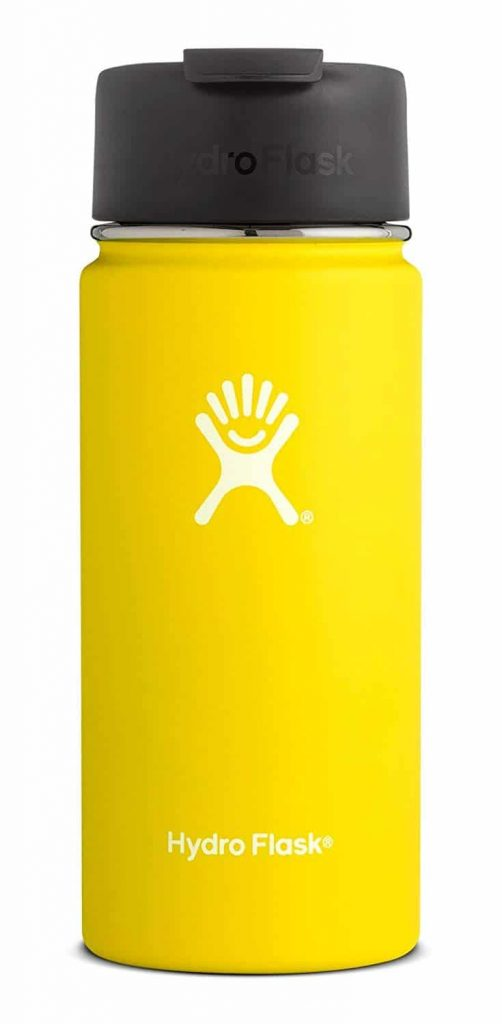 Tall yellow water tumbler