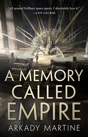 A Memory Called Empire - Book Cover