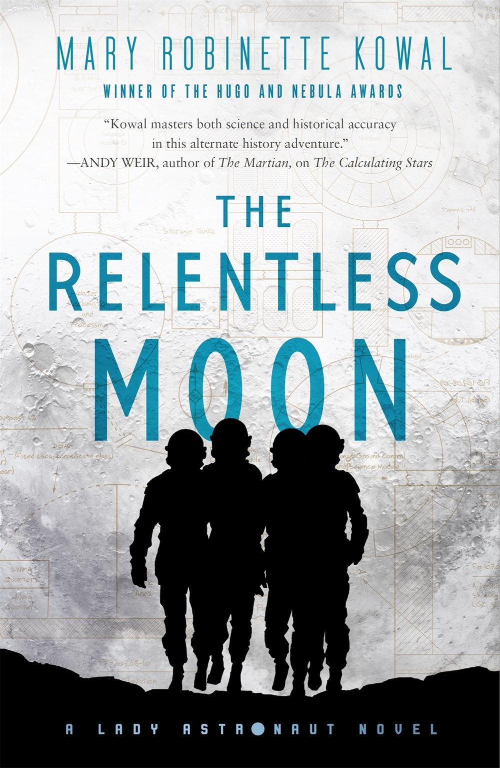 The Relentless Moon - Book Cover